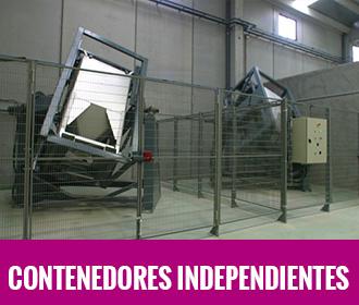 Contenedores independientes